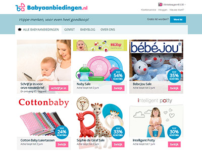 Babyaanbiedingen.nl